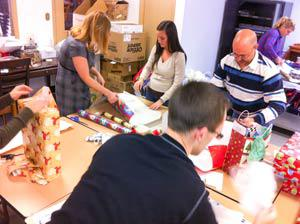 christmas wrapping group