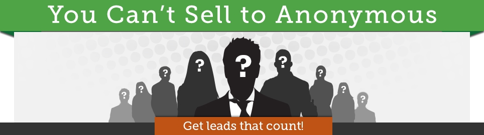 Can't Sell to Anonymous Banner