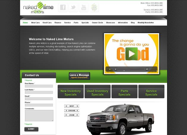 Automotive website best practices