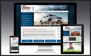 Adaptive web design for dealerships