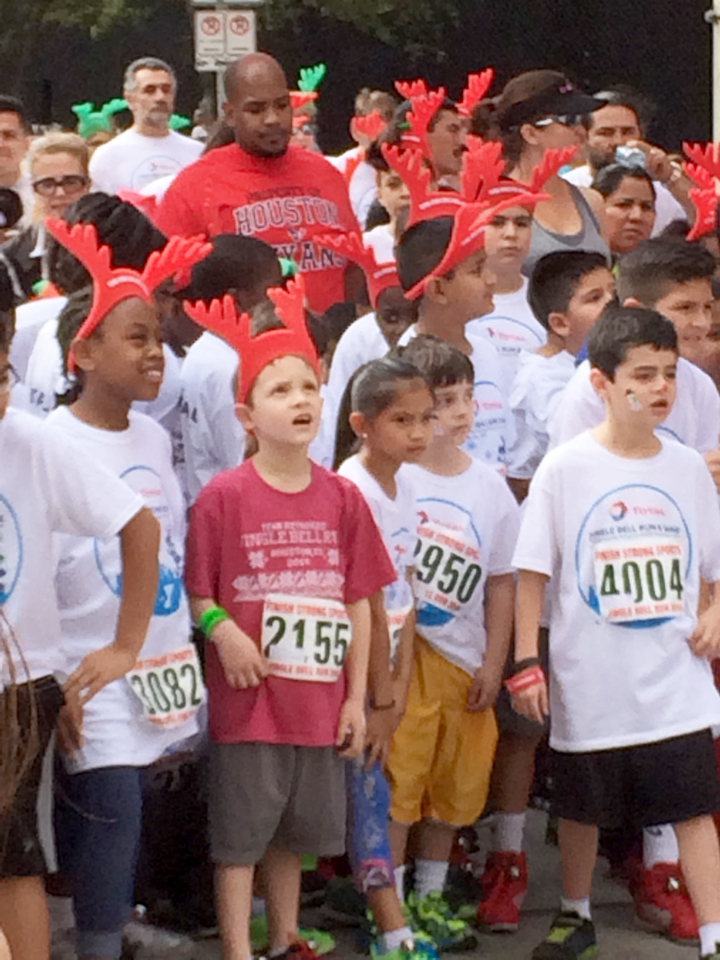 Total Jingle Bell Run for YMCA of Greater Houston